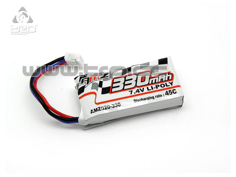 Battery LiPo 7.4V 2S (330mAh 45C discharge) for MiniZ AMZ