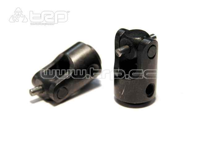 AX Metalic Driveshaft yoke (2 pieces) for Axial Scorpion AX10 Cr