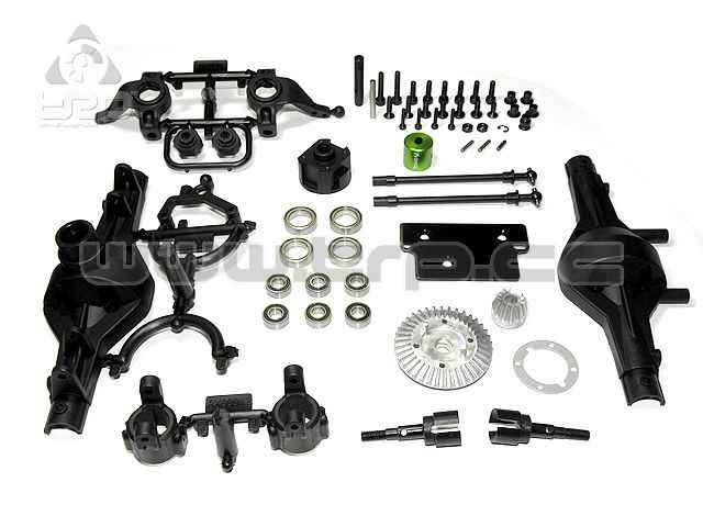 Axial AX10 Scorpion Locked Axle Set