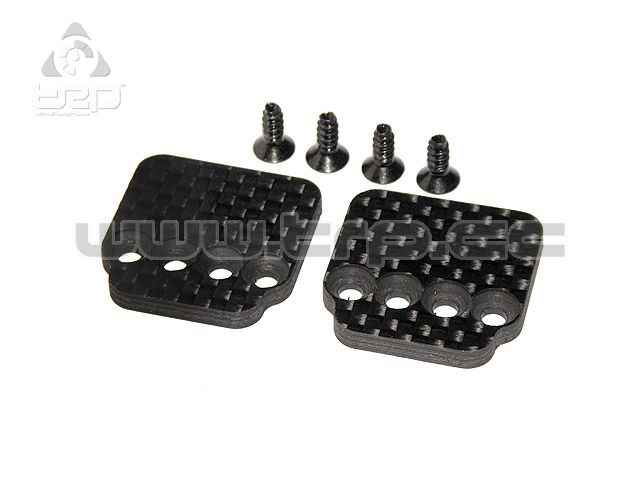 Axial carbon Fiber Hump Pack Plate