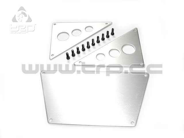 Axial Racing SCX10 front skid plates