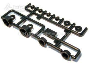 Tapones amortiguación para Crawler Axial Scorpion AX10