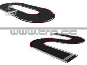 RCP Tracks Large Radius Oval #50