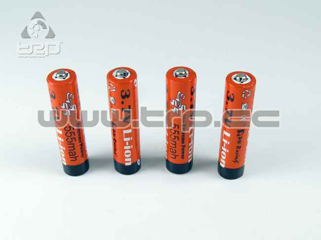 Extreme Power 555mah Li-Ion 3.7V Rechargeable AAA Battery (4pcs)