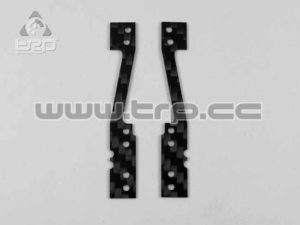 MiniZ F1 Placa de carbono lateral suspensión Medium