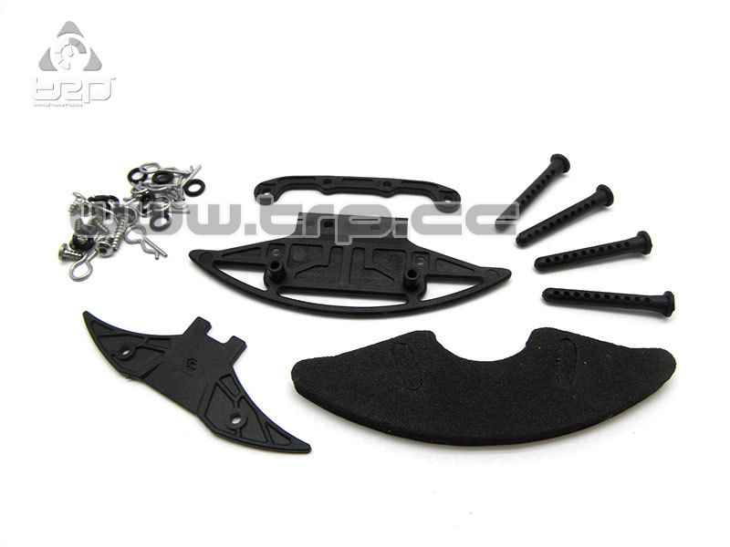 Kit support de carrosserie Lexan complet GLA| GL Racing