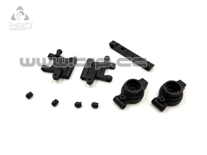 GL Racing Brazos de suspension traseros y c-hubs