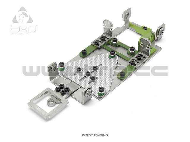 Slot GrupoZ TRPscale Chasis V3 Kit Level 1 (V3L1) verd