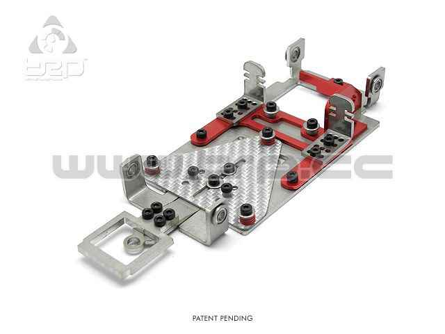 Slot GrupoZ TRPscale Chasis V3 Kit Level 1 (V3L1) Rojo