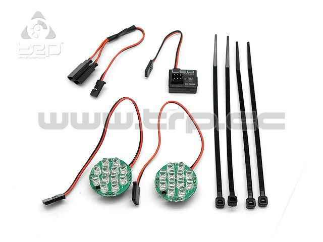 Hpi Baja 5B Luces Led con indicador de Batería