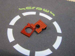 Placas de Motor MiniZ AWD A3, B3 Color Naranja