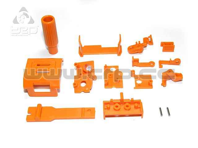 MiniZ AWD DWS Small Parts-2 Chasis
