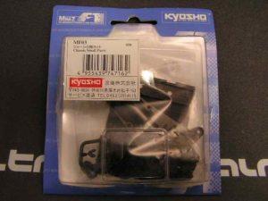 Piezas de plástico para chasis de MiniZ F1 Kyosho