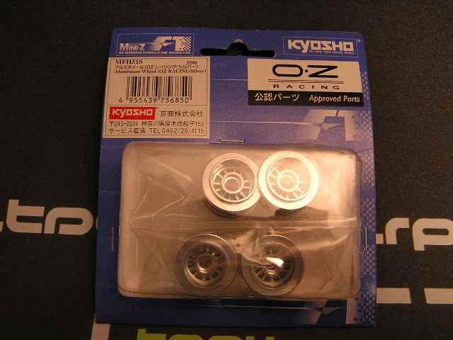 Llantas en aluminio para MiniZ F1 OZ-F1 (4u)