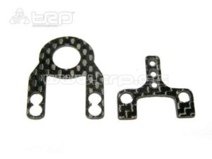 Placas de suspension MM-ML en carbono para miniz Mr02