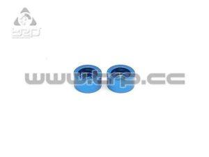 Arandela de la suspensión de disco en Aluminio Azul