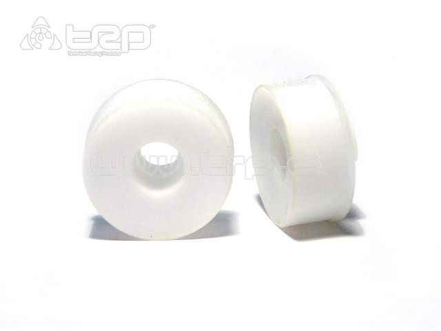 Llantas F+3 MiniZ MR02 20mm CNC Blanco