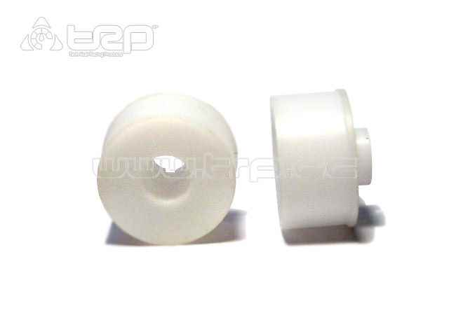 Llantas R+2 MiniZ MR02 20mm CNC Blanco