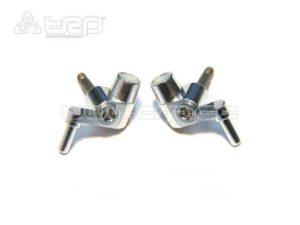 Manguetas delanteras MiniZ MR015/MR02 3gr (plata)