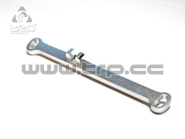 Barra Direccion -1.0 Pn Racing MiniZ MR02 (Toe-Out) Plata