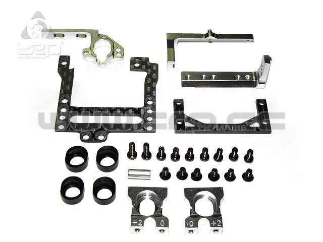 Bancada para Kyosho Mini-Z 2WD 98-100mm Carbono