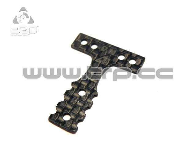Placa de carbono dureza 4 para Mini-Z MR03 MM