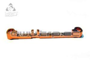 Barra de dirección (Ancha) Toe-in +2 Naranja MiniZ MR03