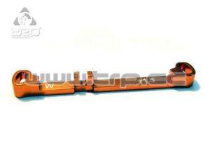 Barra de dirección (Ancha) Toe-in +1.5 Naranja MiniZ MR0