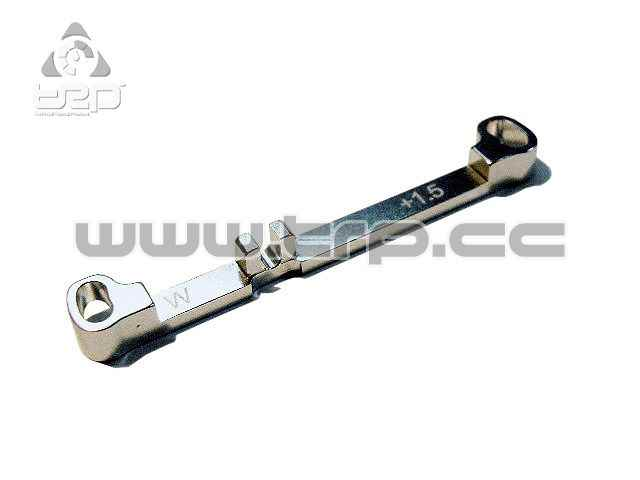PN Aluminium Steering Bar Wide Toe-in +1.5 for MR03
