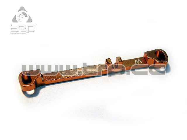 PN Wide size Steering Bar for MiniZ MR03 Toe Out -2.0 (Orange)