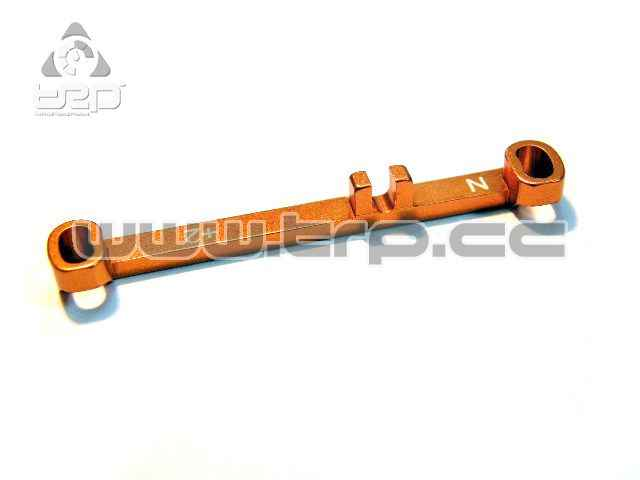 PN Aluminium Steering Bar Narrow Toe-in +2.0 for MR03