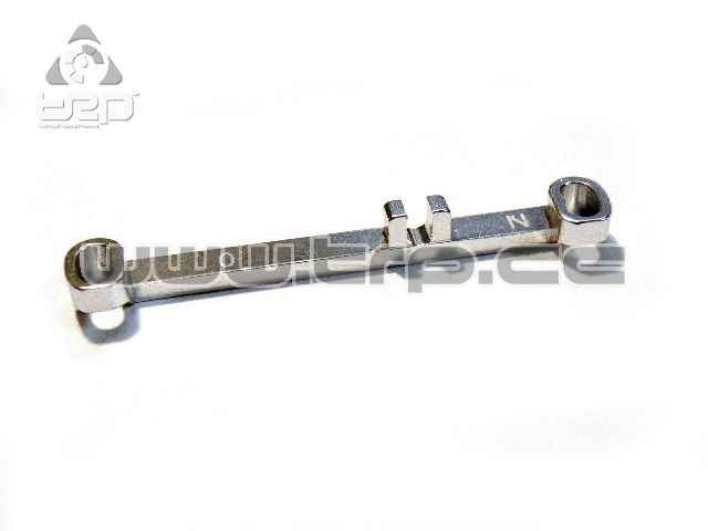 PN Aluminium Steering Bar Narrow +0.0 Neutral