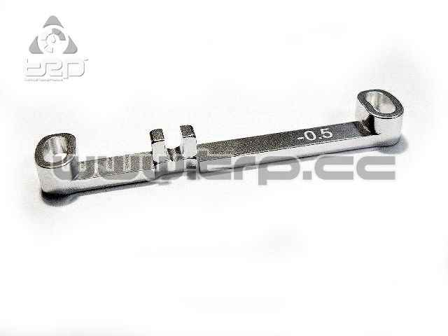 PN Aluminium Steering bar Toe-Out 0.5 Narrow for MiniZ MR03