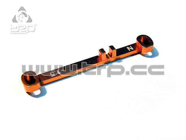 PN Aluminium Steering bar Toe-Out 1.5 Narrow for MiniZ MR03
