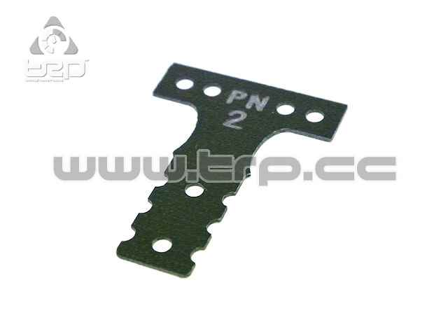 Placa de fibra dureza #2 para Mini-Z MR03 MM G10 Black