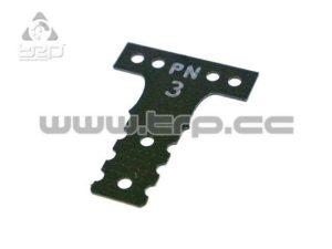 Placa de fibra dureza #3 para Mini-Z MR03 MM G10 Black