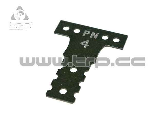 Placa de fibra dureza #4 para Mini-Z MR03 MM G10 Black