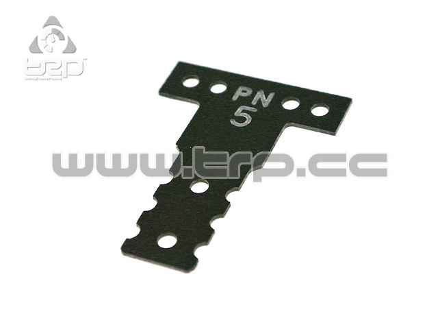 Placa de fibra dureza #5 para Mini-Z MR03 MM G10 Black