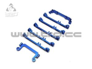 PN Racing Kit de conversion a doble brazo (azul)