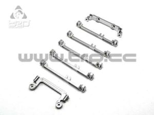 PN Racing Kit conversion ancha suspensión doble brazo (plata)