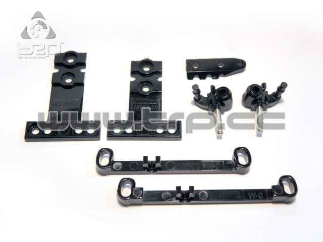 Partes de plástico suspension y barra direccion para Kyosho Mini