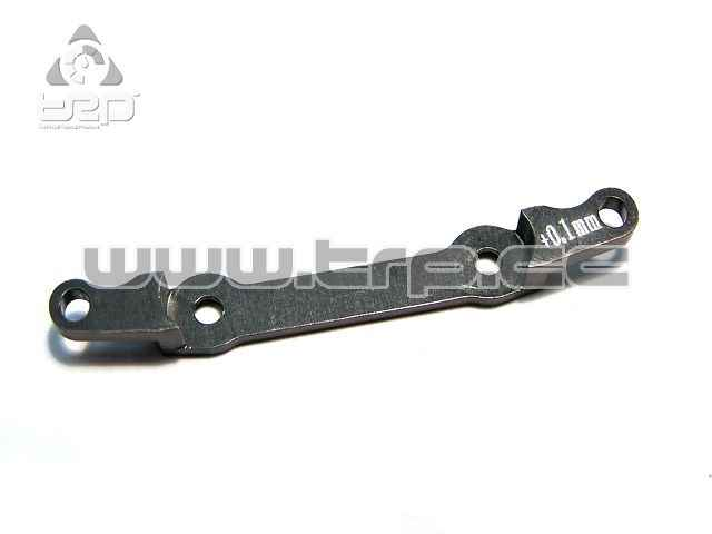 GPM Aluminium Rear Bar Toe In +0.1 for MiniZ AWD 4x4 (Gun colour