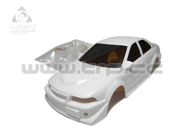 Kyosho Bodywork Mitsubishi Lancer EVO VI (White for paint)