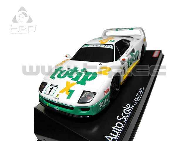 Kyosho bodywork Ferrari F40 1994 with TOTIP decorative logo (94m