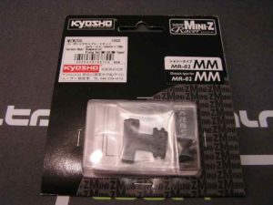 Placas de suspensión en Carbono Kyosho MiniZ MM (3 durezas)