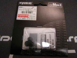 Piñones de servo para MiniZ MR02 de Kyosho en Delrin
