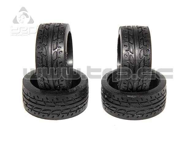 Neumático de Kyosho 30 grados delantero para MiniZ