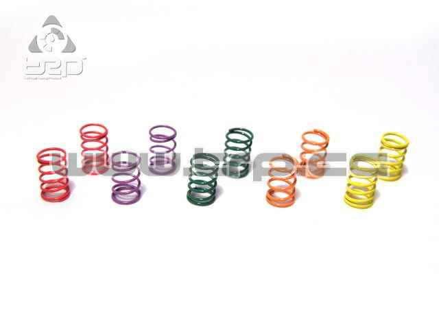 Kyosho frontal Springs with 5 levels of hardness for Mini-Z MR03