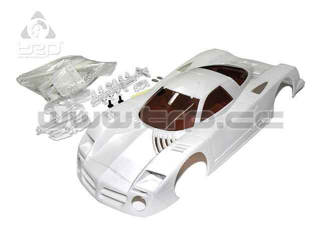 Karosserie R246 Nissan R390GT1 LM 102mm White-Body