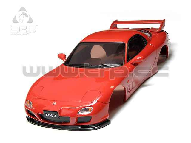 Carrocería Mazda RX-7 Collection Roja para MiniZ